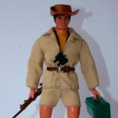 Figuras de acción - Big Jim: BIG JIM FIGURA FIGURE 1975 - EXPLORADOR SAFARI JUNGLA KID ACERO. Lote 95889459