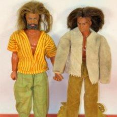 Figuras de acción - Big Jim: PAREJA DE MUÑECOS BIG JIM. MATTEL CONGOST. ESPAÑA. CIRCA 1980.. Lote 199415478