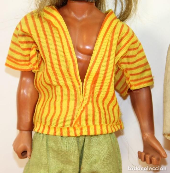 Figuras de acción - Big Jim: PAREJA DE MUÑECOS BIG JIM. MATTEL CONGOST. ESPAÑA. CIRCA 1980. - Foto 4 - 63900983