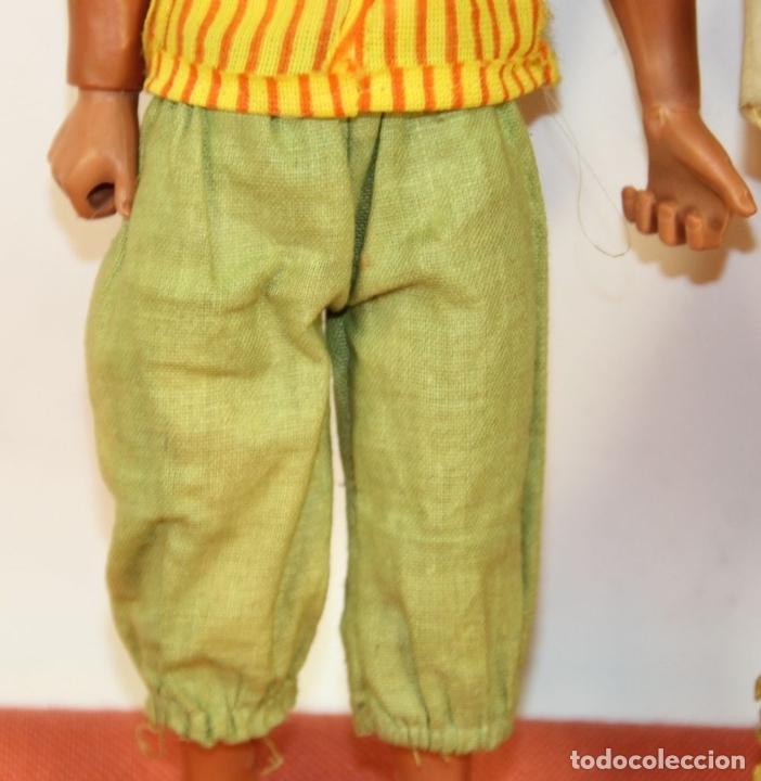 Figuras de acción - Big Jim: PAREJA DE MUÑECOS BIG JIM. MATTEL CONGOST. ESPAÑA. CIRCA 1980. - Foto 5 - 63900983