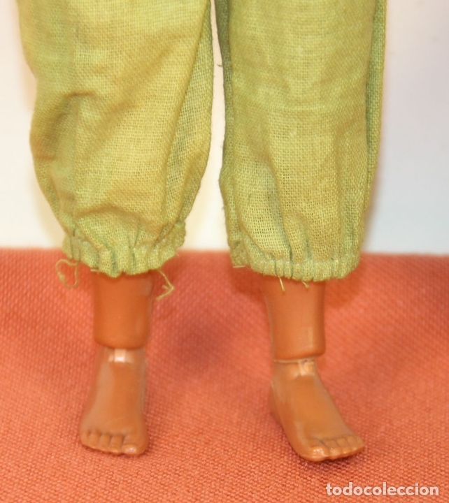 Figuras de acción - Big Jim: PAREJA DE MUÑECOS BIG JIM. MATTEL CONGOST. ESPAÑA. CIRCA 1980. - Foto 6 - 63900983