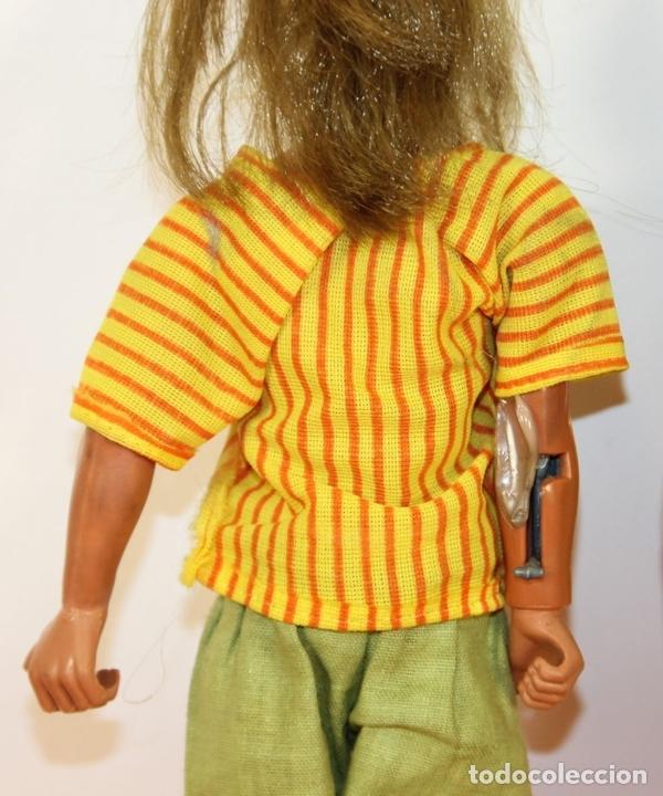 Figuras de acción - Big Jim: PAREJA DE MUÑECOS BIG JIM. MATTEL CONGOST. ESPAÑA. CIRCA 1980. - Foto 8 - 63900983