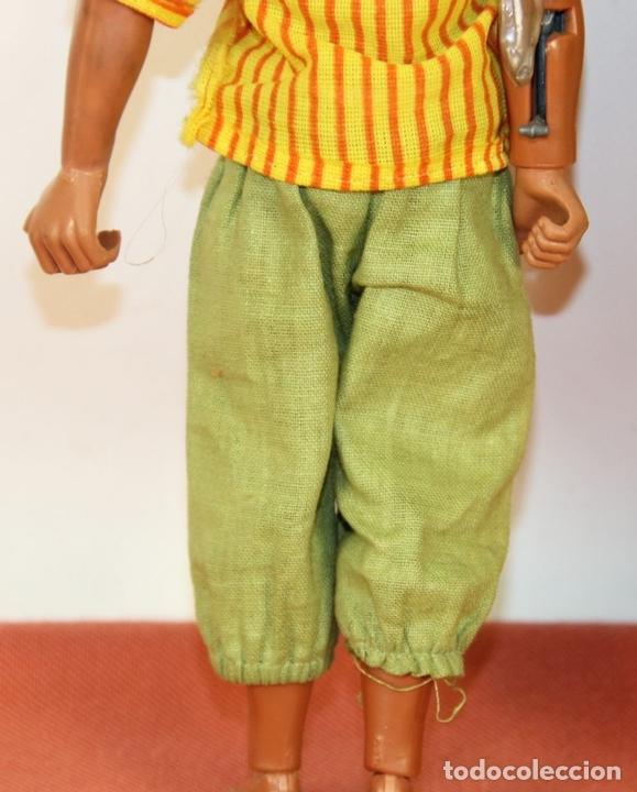 Figuras de acción - Big Jim: PAREJA DE MUÑECOS BIG JIM. MATTEL CONGOST. ESPAÑA. CIRCA 1980. - Foto 9 - 63900983