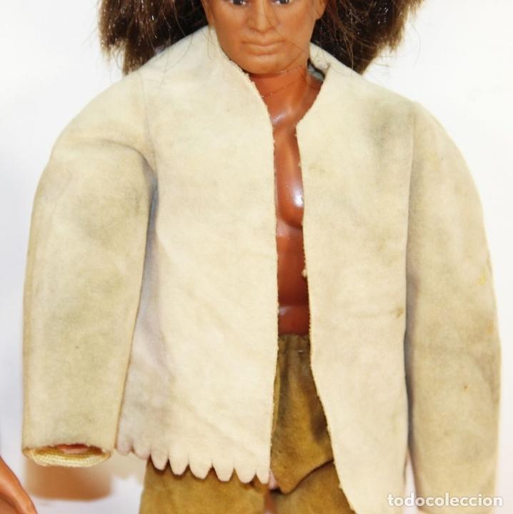 Figuras de acción - Big Jim: PAREJA DE MUÑECOS BIG JIM. MATTEL CONGOST. ESPAÑA. CIRCA 1980. - Foto 13 - 63900983