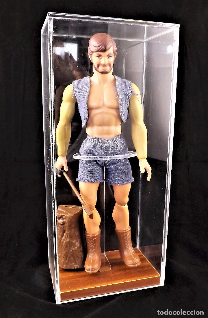 Figuras de acción - Big Jim: Vitrina expositora para figuras Big Jim y similares. - Foto 3 - 118608260