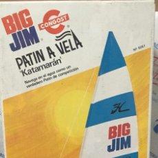 Figuras de acción - Big Jim: BIG JIM PATIN A VELA. NUEVO, SIN USO, DE JUGUETERIA.. Lote 156311070