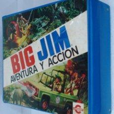 Figuras de acción - Big Jim: BIG JIM: MALETIN AVENTURA Y ACCIÓN. AÑOS 70, NUEVO, SIN ESTRENAR. PROCEDE DE COLECCIONISTA.. Lote 80584366