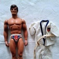 Figuras de acción - Big Jim: IMPECABLE BIG JIM (EL CAMPEON) CON VESTIDO ORIGINAL DE KARATE ,AÑOS 70. Lote 81270924