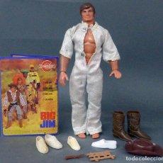 Figuras de acción - Big Jim: BIG JIM CONGOST CON CATÁLOGO ROPA ZAPATOS COMPLEMENTOS AÑOS 70. Lote 98374583
