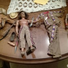 Figuras de acción - Big Jim: BIG JIM, DAKOTA JOE,GERONIMO,TRAJE INDIO..... Lote 101166487