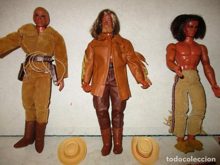 Figuras de acción - Big Jim: COLECCION BIG JIM OESTE TRES FIGURAS ORIGINALES CON COMPLEMENTOS - Foto 2 - 104034291