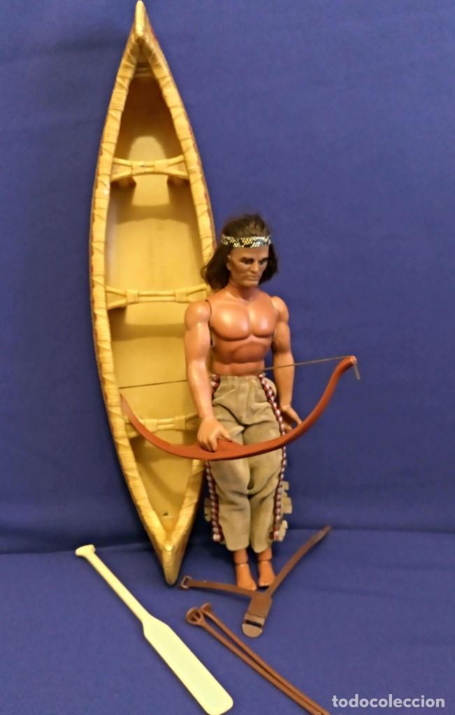 Figuras de acción - Big Jim: Muñeco indio Big Jim Congost de Mattel de los 70. - Foto 2 - 106594819