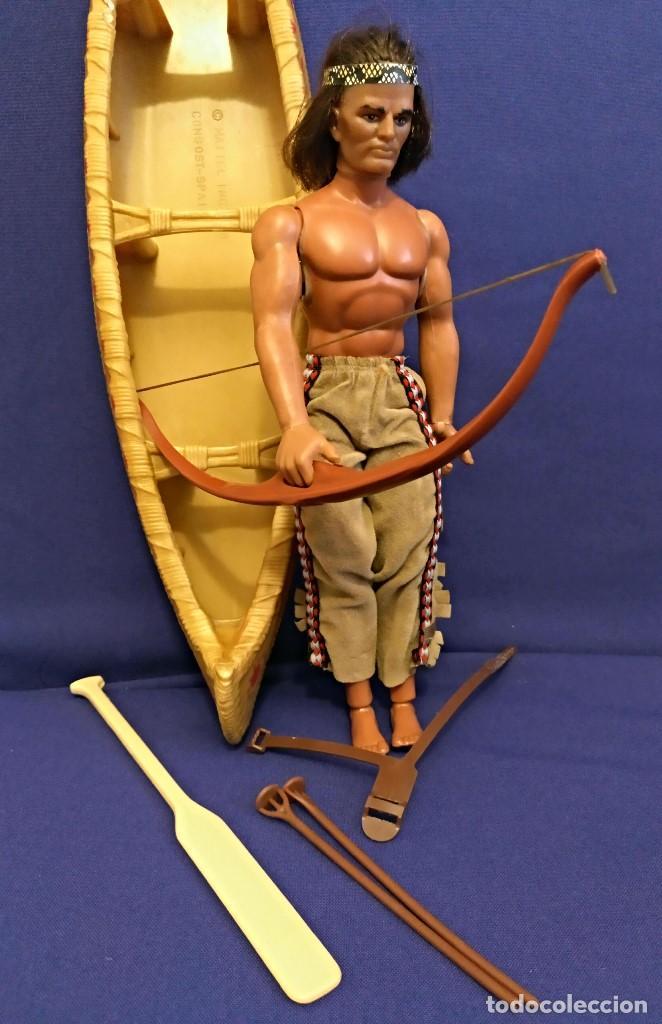 Figuras de acción - Big Jim: Muñeco indio Big Jim Congost de Mattel de los 70. - Foto 5 - 106594819
