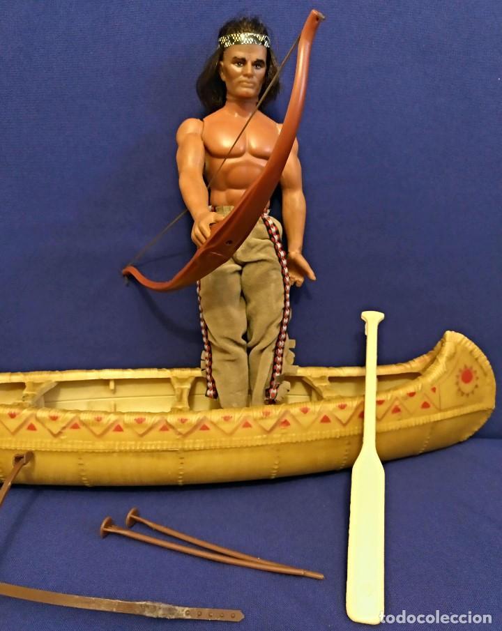 Figuras de acción - Big Jim: Muñeco indio Big Jim Congost de Mattel de los 70. - Foto 6 - 106594819