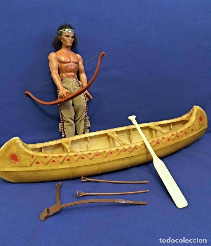 Figuras de acción - Big Jim: Muñeco indio Big Jim Congost de Mattel de los 70. - Foto 8 - 106594819