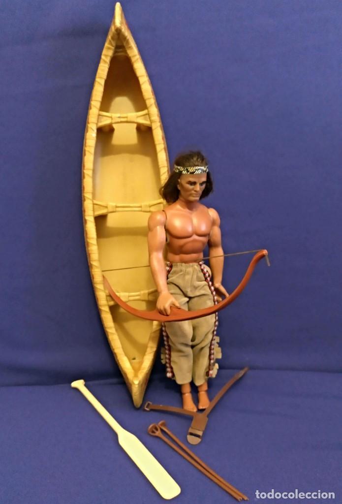 Figuras de acción - Big Jim: Muñeco indio Big Jim Congost de Mattel de los 70. - Foto 10 - 106594819