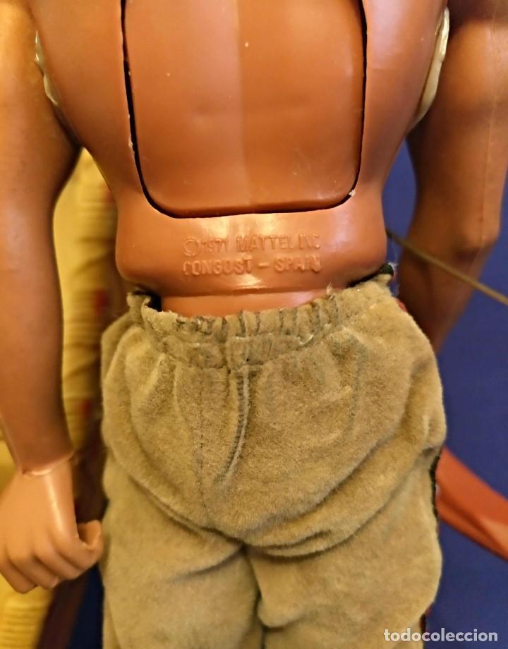 Figuras de acción - Big Jim: Muñeco indio Big Jim Congost de Mattel de los 70. - Foto 11 - 106594819