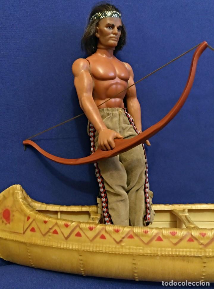 Figuras de acción - Big Jim: Muñeco indio Big Jim Congost de Mattel de los 70. - Foto 17 - 106594819