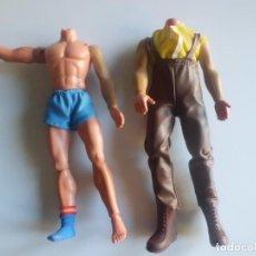 Figuras de acción - Big Jim: MUÑECOS SIN CABEZA PARA PIEZAS BIG JIM. Lote 106742967