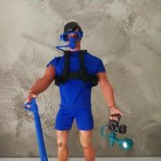 Figuras de acción - Big Jim: BIG JIM SUBMARINISTA DE MATTEL . Lote 108896851