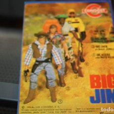 Figuras de acción - Big Jim: FOLLETO ANTIGUO A ESTRENAR DE BIG JIM.. Lote 109013271