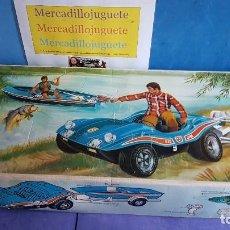 Figuras de acción - Big Jim - Buggy Mattel 1972, USA bug jin y tienda - 113023359