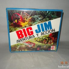 Figuras de acción - Big Jim: ANTIGUO MALETÍN ORIGINAL DE BIG JIM DE CONGOST - AÑO 1977. Lote 113728567