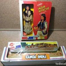 Figuras de acción - Big Jim: BIG JIM CONGOST INDIA APACHE Y CANOA INDIA. Lote 116488276