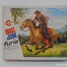 Figuras de acción - Big Jim: CABALLO FURIA BIG JIM OESTE, EN CAJA ORIGINAL, CONGOST. Lote 118278715