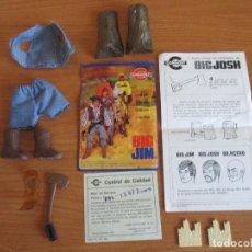 Figuras de acción - Big Jim - CONGOST : BIG JOSH EL AMIGO DE BIG JIM , ROPA Y ACCESORIOS - 120231779