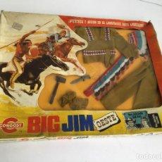 Figuras de acción - Big Jim: BIG JIM TRAJE INDIO EN CAJA CONGOST. Lote 135787526