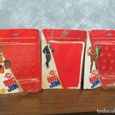 Figuras de acción - Big Jim: LOTE 3 BLISTERS VACIOS BIG JIM CONGOST MATTEL VINTAGE AÑOS 80. Lote 136299094