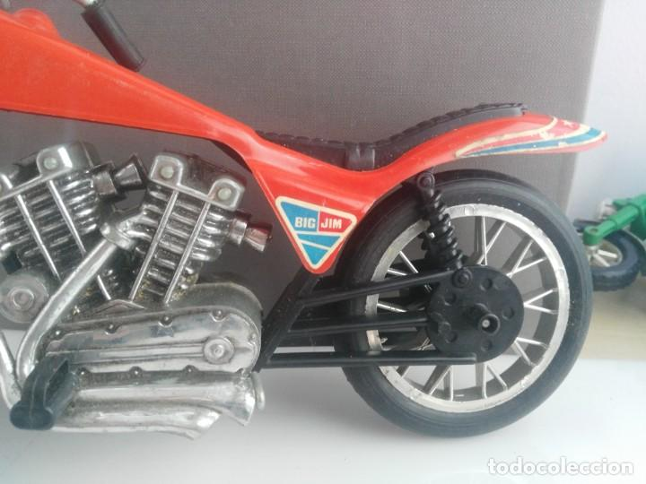 Figuras de acción - Big Jim: antigua moto de big jim - Foto 2 - 147285493