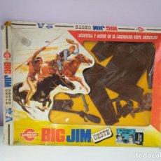 Figuras de acción - Big Jim: CAJA ROPA BIG JIM VEST.TRAMPERO REF.9410 CONGOST MATTEL ESPECIAL FIESTAS DE NAVIDAD IDEAL REGALO!!!. Lote 143185798