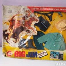 Figuras de acción - Big Jim: CAJA ROPA BIG JIM VEST.RANGER REF.9412 CONGOST MATTEL ESPECIAL FIESTAS DE NAVIDAD IDEAL REGALO!!!!. Lote 143186366