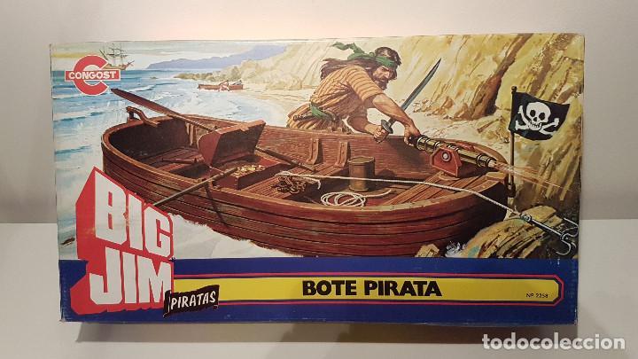BIG JIM BOTE PIRATA CONGOST 1978 (Juguetes - Figuras de Acción - Big Jim)