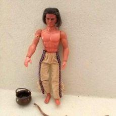 Figuras de acción - Big Jim - Big Jim - Karl May muñeco figura WINNETOU (Geronimo) mattel 1977 vintage - 150708254