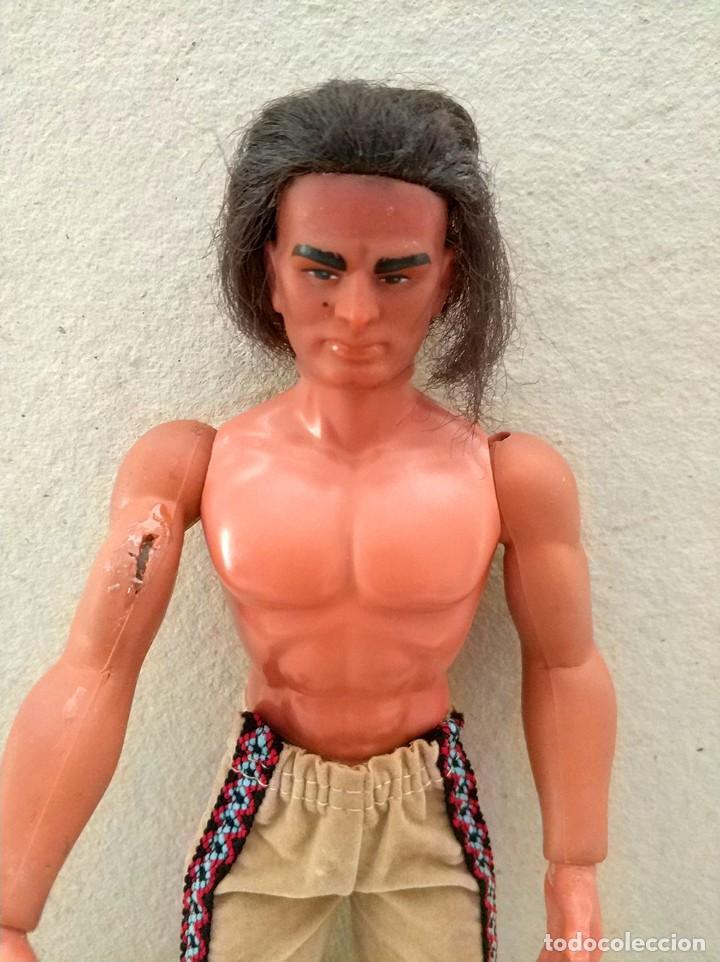 Figuras de acción - Big Jim: Big Jim - Karl May muñeco figura WINNETOU (Geronimo) mattel 1977 vintage - Foto 3 - 150708254