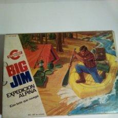 Figuras de acción - Big Jim: BIG JIM EXPEDICION ALPINA,CON CAJA,CATALOGO E INSTRUCCIONES. Lote 151456317