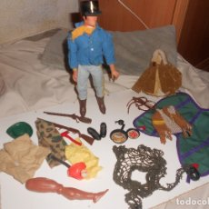 Figuras de acción - Big Jim: LOTE OESTE, SAFARI..BIG JIM, RED CAZA, COMPLEMENTOS, OCASIÓN. Lote 156917210