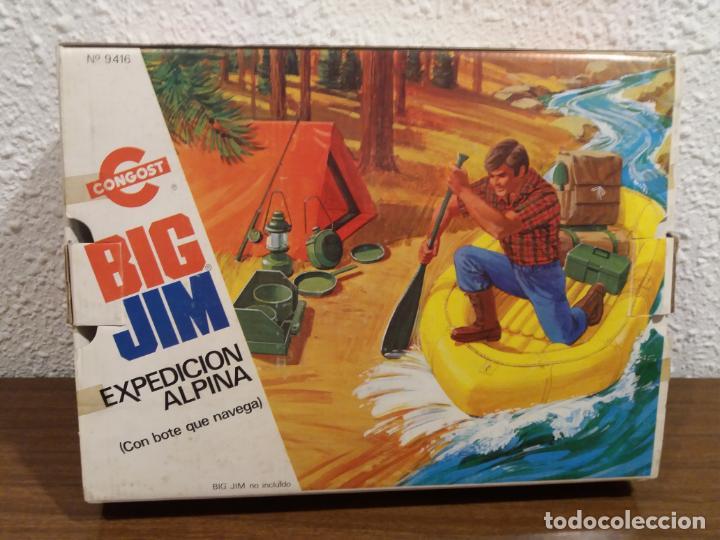 BIG JIM EXPEDICION ALPINA EN CAJA (IMPORTANTE LEER DESCRIPCION) (Juguetes - Figuras de Acción - Big Jim)