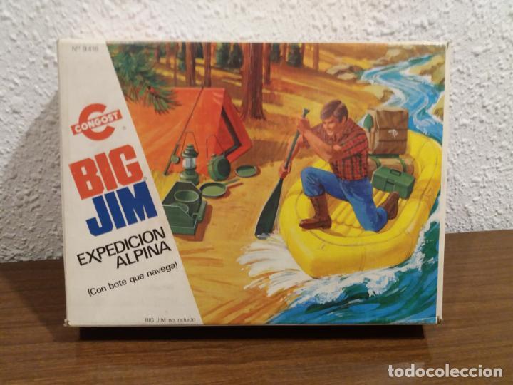 Figuras de acción - Big Jim: BIG JIM EXPEDICION ALPINA EN CAJA (IMPORTANTE LEER DESCRIPCION) - Foto 2 - 160181946