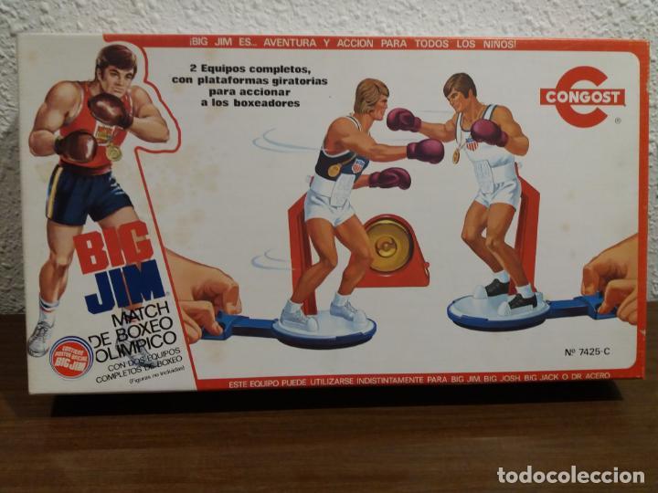 BIG JIM MATCH BOXEO OLIMPICO (IMPORTANTE LEER DESCRIPCION) (Juguetes - Figuras de Acción - Big Jim)