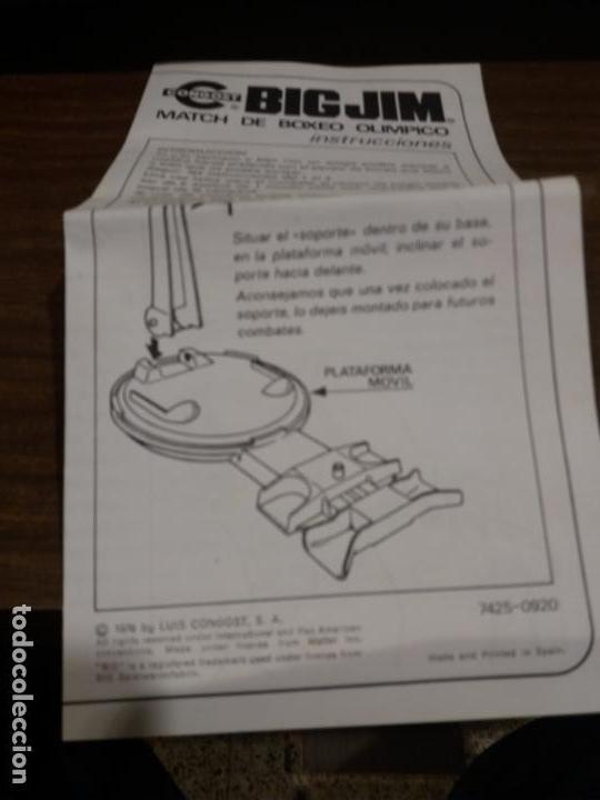 Figuras de acción - Big Jim: BIG JIM MATCH BOXEO OLIMPICO (IMPORTANTE LEER DESCRIPCION) - Foto 10 - 160292738