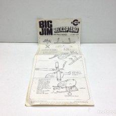 Actionfiguren - Big Jim - INSTRUCCIONES BIG JIM HELICOPTERO - ref 9901-0929 - 161704698