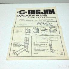 Figuras de acción - Big Jim: INSTRUCCIONES BIG JIM - CONGOST - EXPEDICIÓN ALPINA - AÑOS 70. Lote 161707878