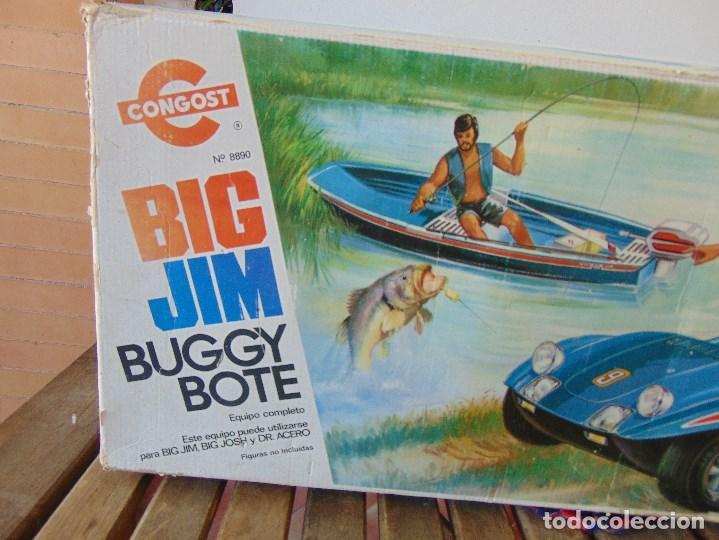 Figuras de acción - Big Jim: BIG JIM BUGGY BOTE DE CONGOST CAJA VACIA SOLO CAJA - Foto 3 - 169264596