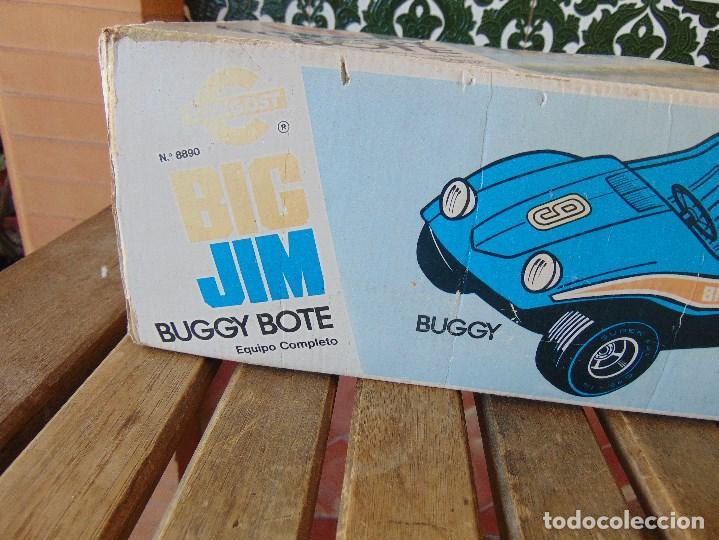 Figuras de acción - Big Jim: BIG JIM BUGGY BOTE DE CONGOST CAJA VACIA SOLO CAJA - Foto 5 - 169264596