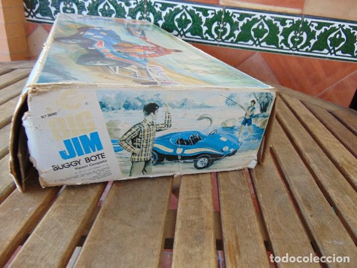 Figuras de acción - Big Jim: BIG JIM BUGGY BOTE DE CONGOST CAJA VACIA SOLO CAJA - Foto 7 - 169264596