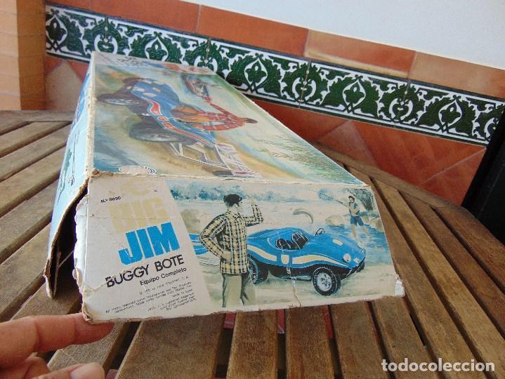 Figuras de acción - Big Jim: BIG JIM BUGGY BOTE DE CONGOST CAJA VACIA SOLO CAJA - Foto 8 - 169264596